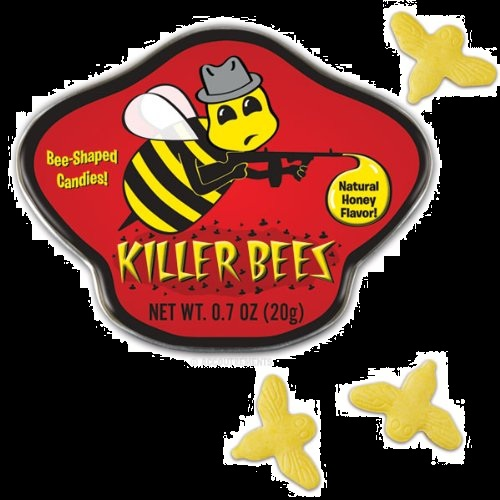 Best Halloween Candy For Sale in 2012 Killer Bees Honey Candy