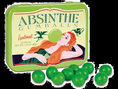 Halloween Candy For Sale 2012 Absinthe Gumballs