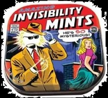 Best Halloween Candy For Sale in 2012 Invisiblity Mints
