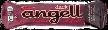 Halloween Candy For Sale Organic Angel Dark Chocolate and Almond Candy Bar