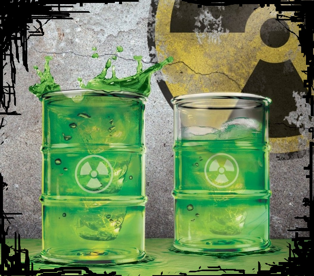 Halloween Candy For Sale Toxic Barrel Waste Drink Glasses