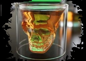Halloween Candy For Sale Crystal Skull Shot Glass