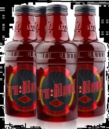 Tru Blood Vampire Drink HBOs True Blood Synthetic Blood Drink