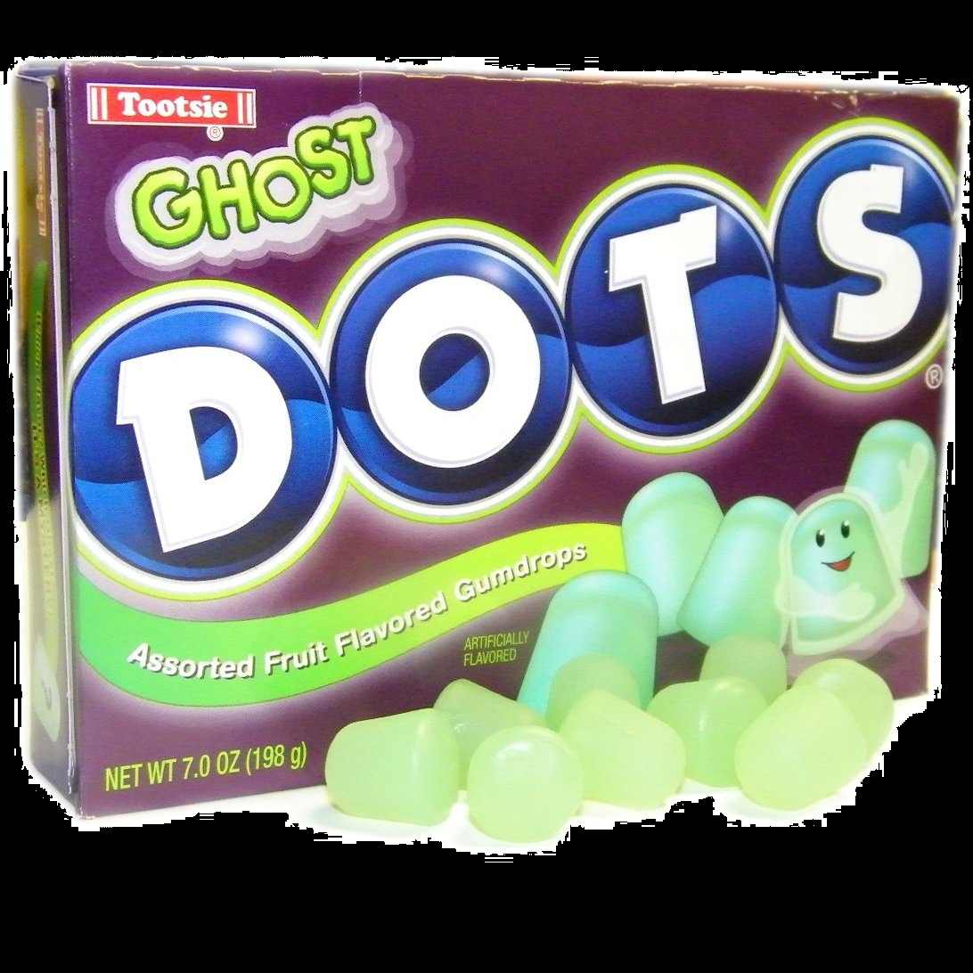 Haunted Ghost DOTS  Halloween Candy