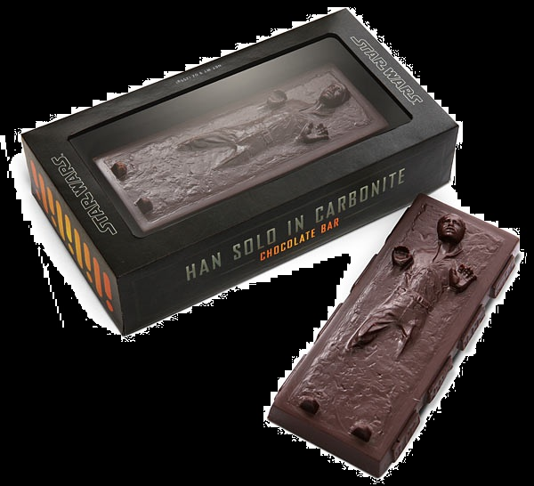 Halloween Candy For Sale Hon Solo Star Wars Carbonite Chocolate Bar