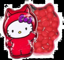 Hello Kitty Devil Cinnamon Hots Halloween Candy