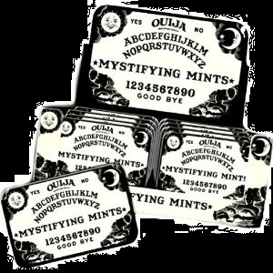 Halloween Ouij Board Mints and Collectors Tin For Sale