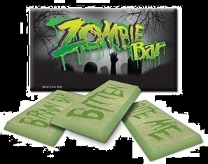Zombie Chocolate Candy Bar Halloween Candy Treat